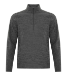 DYNAMIC HEATHER FLEECE 1/2 ZIP SWEATSHIRT front Thumb Image