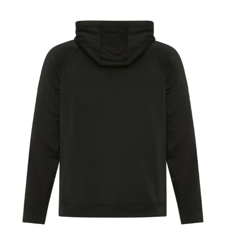 Fleece Two Tone Hooded Sweatshirt back Image