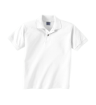 DryBlend® Youth 5.6 oz., 50/50 Jersey Polo front Thumb Image