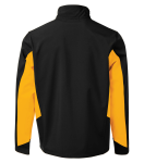 COAL HARBOUR® EVERYDAY COLOUR BLOCK SOFT SHELL JACKET back Thumb Image