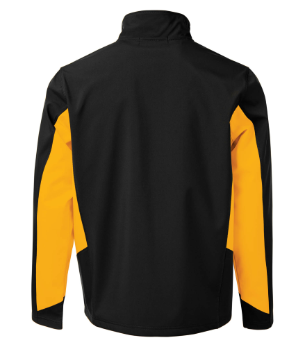 COAL HARBOUR® EVERYDAY COLOUR BLOCK SOFT SHELL JACKET back Image