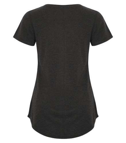 TRIBLEND SCOOP NECK RELAXED LADIES' TEE back Image