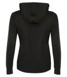 Fleece Hooded Ladies' Sweatshirt back Thumb Image