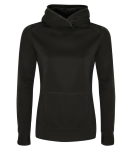 Fleece Hooded Ladies' Sweatshirt front Thumb Image