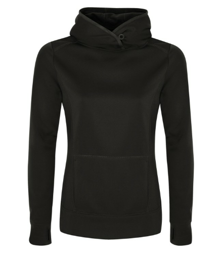 Fleece Hooded Ladies' Sweatshirt front Image