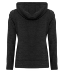 LADIES DYNAMIC HEATHER FLEECE HOODED LADIES' SWEATSHIRT back Thumb Image