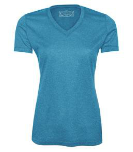 Ladies Performance V-Neck front Image