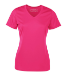 Pro Team Short Sleeve Ladies' V-Neck Tee front Thumb Image