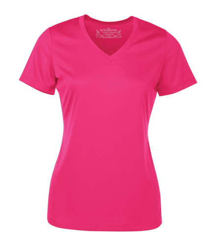 Pro Team Short Sleeve Ladies' V-Neck Tee front Image
