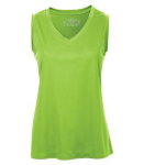 Ladies Sleeveless Performance Tee front Thumb Image