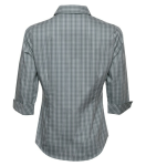 Tattersall Check Woven Ladies Shirt back Thumb Image