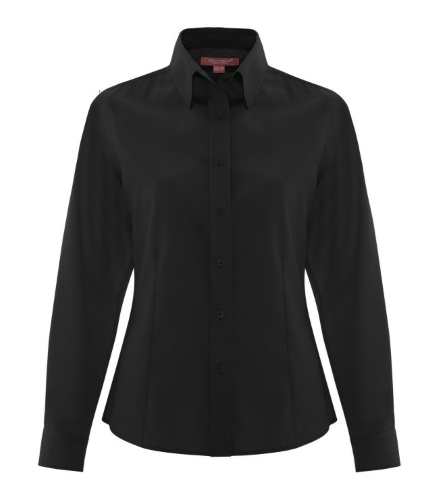 Non-Iron Twill Ladies Shirt front Image
