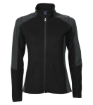COAL HARBOUR® EVERYDAY FLEECE COLOUR BLOCK LADIES' JACKET front Thumb Image