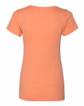 Ladies' Ideal V-Neck Tee back Thumb Image