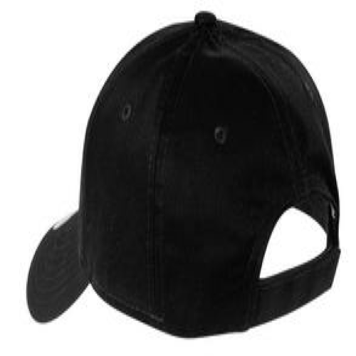 Adjustable Structured Cap back Image