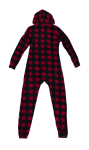 Canada Plaid Footless Onesie back Thumb Image