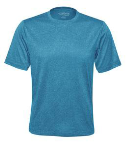 Heather Performance Tee front Image