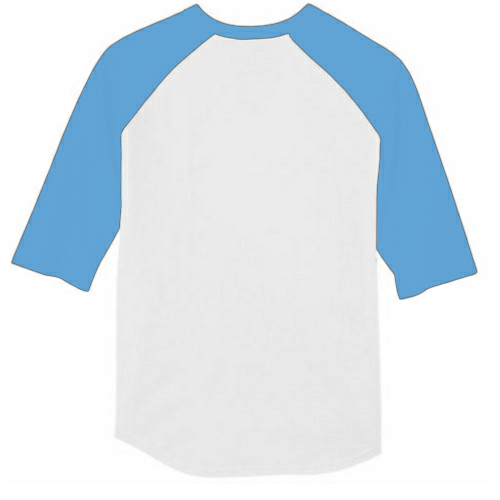 Performance Baseball Jersey back Image