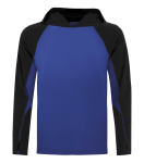 Pro Team Long Sleeve Hooded Tee front Thumb Image