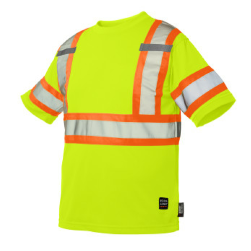 Short-Sleeve Safety T-Shirt with Armband front Image