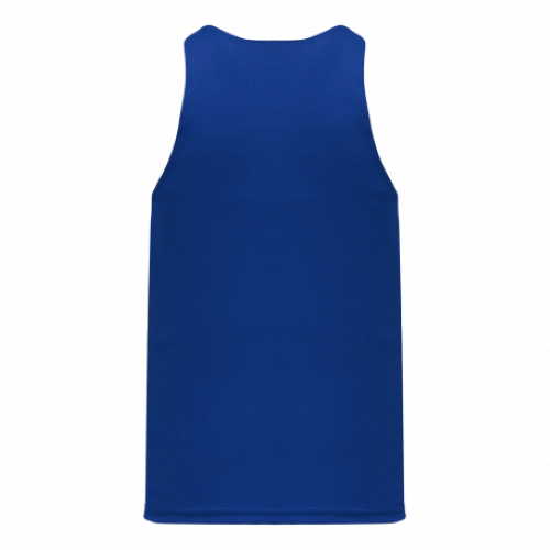 Track Singlet with Centre Insert back Image