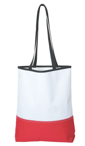 Two-Tone Poly Tote