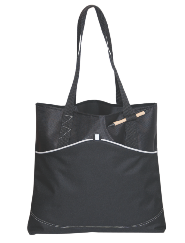 Vision Polyester Tote back Image