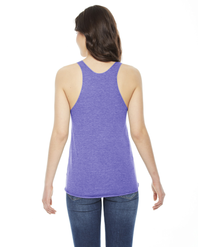 American Apparel Ladies' Triblend Racerback Tank back Image