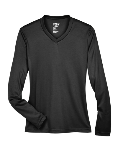 Ladies' Zone Performance Long-Sleeve T-Shirt front Image