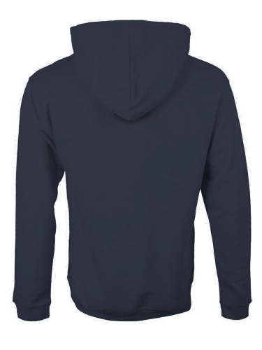 MEN'S 16 OZ. FULL-ZIP KANGAROO HOODY back Image