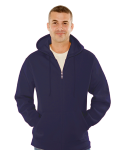 MEN'S 16 OZ. FULL-ZIP KANGAROO HOODY front Thumb Image