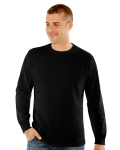 MEN'S 9 OZ. LONG-SLEEVE CREWNECK T-SHIRT front Thumb Image