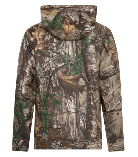 REALTREE® TECH FLEECE HOODED YOUTH SWEATSHIRT back Image