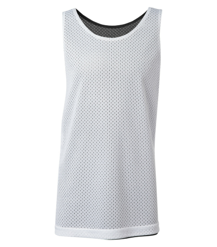 PRO MESH REVERSIBLE YOUTH TANK TOP back Image