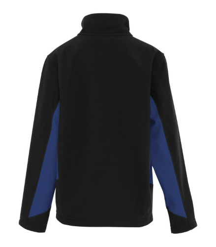 COAL HARBOUR® EVERYDAY COLOUR BLOCK SOFT SHELL YOUTH JACKET back Image