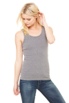 Ladies' Stretch Rib Tank front Thumb Image