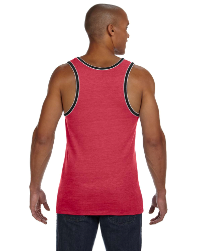 Men's Double Ringer Tank back Image