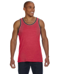 Men's Double Ringer Tank front Thumb Image