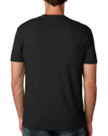 Men's Premium Fitted Short-Sleeve Crew back Thumb Image