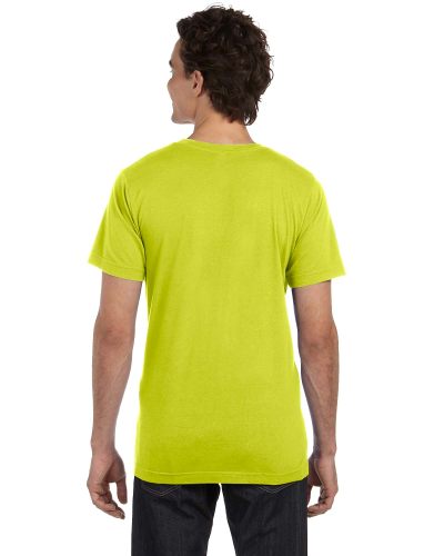 Unisex Poly-Cotton Short-Sleeve T-Shirt back Image