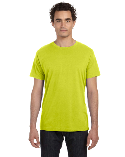 Unisex Poly-Cotton Short-Sleeve T-Shirt front Image