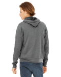 Unisex Poly-Cotton Fleece Pullover Hoodie back Thumb Image