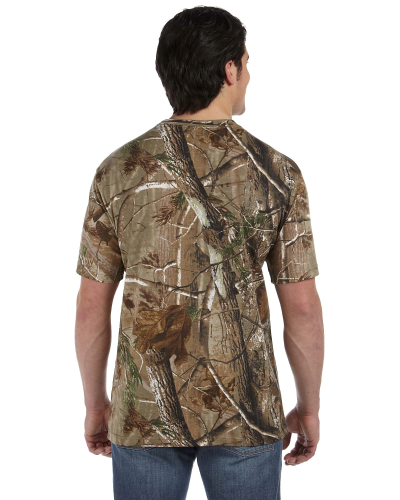 Camouflage Short-Sleeve T-Shirt back Image