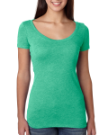 Ladies' Triblend Scoop Tee front Thumb Image