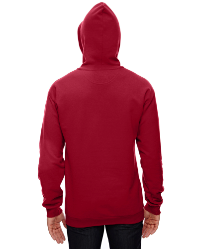Adult Pullover Hooded Fleece back Image