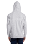 Unisex Light Terry Hood back Thumb Image