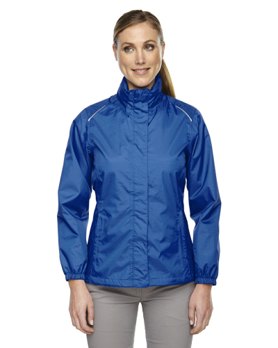 Ladies' Climate Seam-Sealed Lightweight Variegated Ripstop Jacket front Image