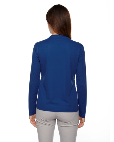 Ladies' Agility Performance Long-Sleeve back Image