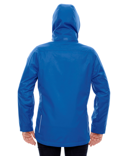 Ladies' Region 3-in-1 Jacket with Fleece Liner back Image