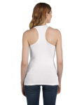 Ladies' Sheer Mini Rib Racerback Tank back Thumb Image
